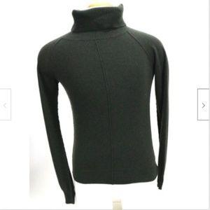 AllSaints Women's 100% Cashmere Sweater Sz 6 Green